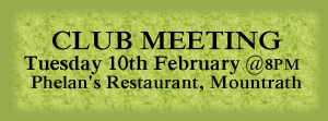 Club Meeting 10.02.15 Phelans